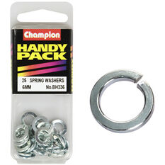 Champion Spring Washers - 6mm, BH336, Handy Pack, , scanz_hi-res