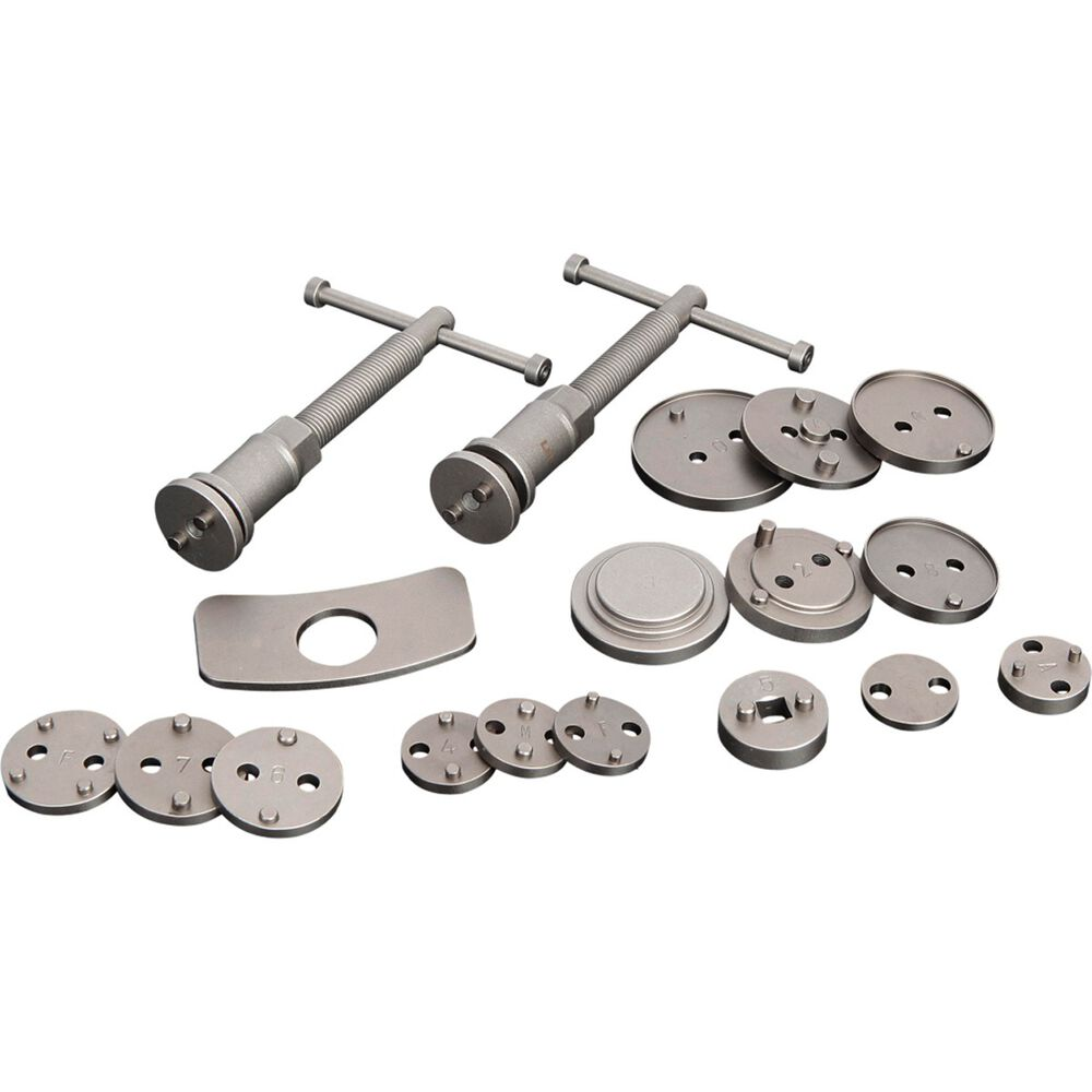 ToolPRO Brake Piston Wind Back Tool Kit - 18 Piece