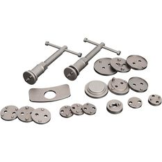 Disc Brake Pad Caliper Service Kit - 18 Piece, , scanz_hi-res