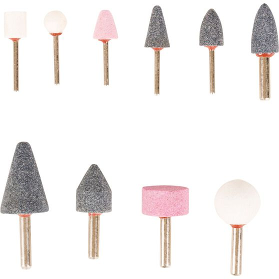 ToolPRO Mounted Stone Set - 10 Pieces, , scanz_hi-res