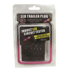 Trailer Plug - 7 Pin Flat, LED, , scanz_hi-res