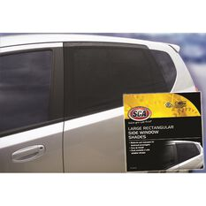 SCA Window Shade Side Large Rectangular Black Pair, , scanz_hi-res