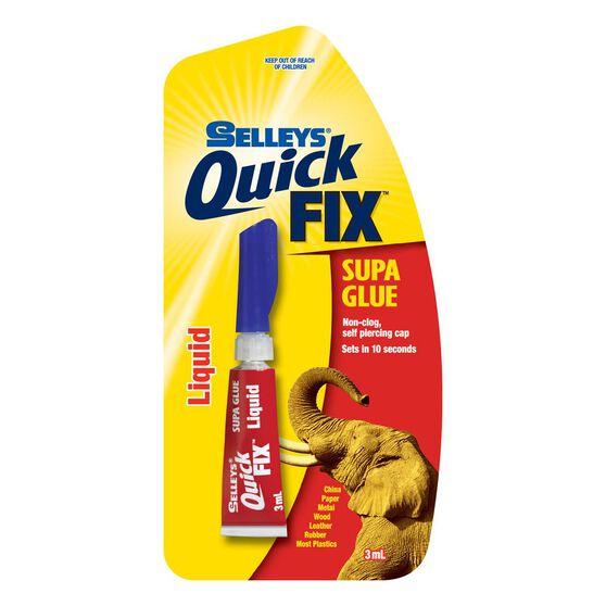 Supa Glue - Quickfix, Liquid, 3mL, , scanz_hi-res