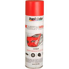 Aerosol Paint - Custom Wrap, Matte Performance Red, 396g, , scanz_hi-res