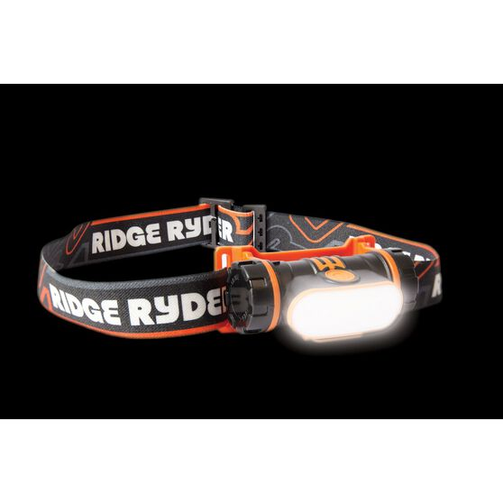 Ridge Ryder Rechargeable Head LAMP - LED, H2, , scanz_hi-res