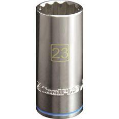 """ToolPRO Single Socket Deep 1/2"""" Drive 23mm, , scanz_hi-res"""