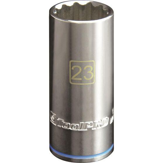 """ToolPRO Single Socket - Deep, 1/2"""" Drive, 23mm, , scanz_hi-res"""
