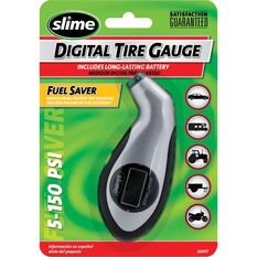 Slime Digital Sport Tyre Gauge - 0-150 PSI, , scanz_hi-res