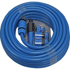 Garden Hose - 11.5mm x 15m, with fittings, , scanz_hi-res