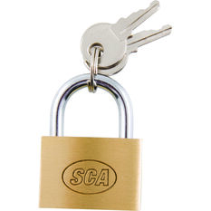SCA Padlock - Brass, 30mm, , scanz_hi-res