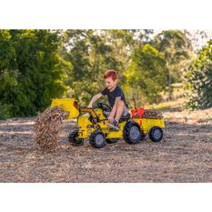 Pedal Tractor With Trailer, , scanz_hi-res