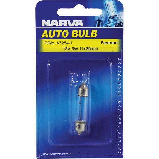Narva Bulb - 12V, 5W, 11x36mm, , scanz_hi-res