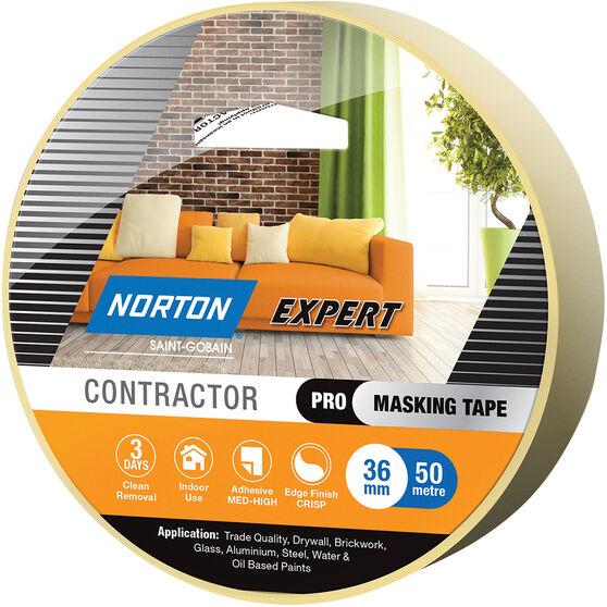Norton Expert 3 Day Masking Tape - 36mm x 50m, , scanz_hi-res