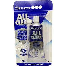 Selleys Sealant - Multi-Purpose, All Clear, 80g, , scanz_hi-res
