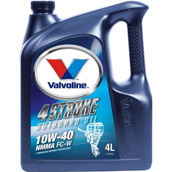 Valvoline Four Stroke High Performance Outboard Oil - 4 Litres, 3 Pack, , scanz_hi-res