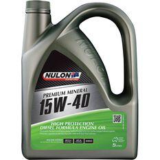 Nulon High Protection Diesel Engine Oil - 15W-40 5 Litre, , scanz_hi-res