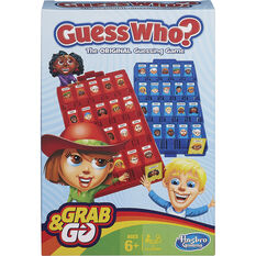 Hasbro Grab&Go Travel Game Guess Who, , scanz_hi-res