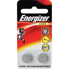Speciality Alkaline Battery - A76, 2 Pack, , scanz_hi-res