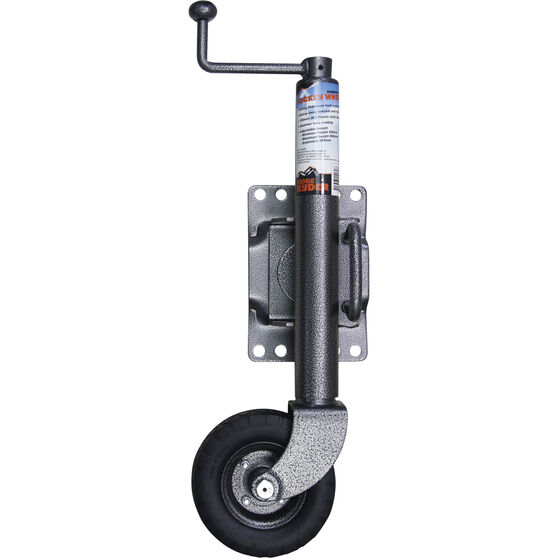 Ridge Ryder Swing Jockey Wheel - 6 inch, Hammer, , scanz_hi-res