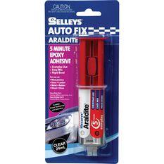Selleys Autofix - Araldite, 5 Minute, 24mL, , scanz_hi-res
