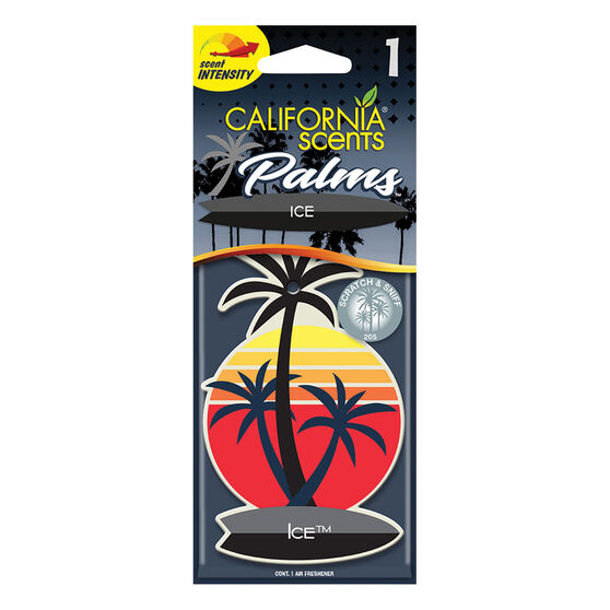 California Scents Palms Air Freshener Ice, , scanz_hi-res