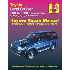 Car Manual For Toyota Landcruiser Petrol & Diesel  1980-1998, , scanz_hi-res