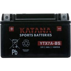 Katana Powersports Battery -  YTX7A-BS, , scanz_hi-res