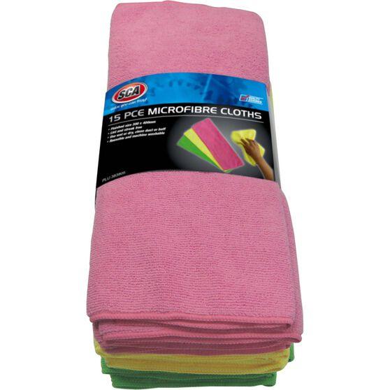 SCA Microfibre Cloths 15 Pack, , scanz_hi-res