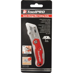 ToolPRO Quick Change Mini Folding Knife, , scanz_hi-res