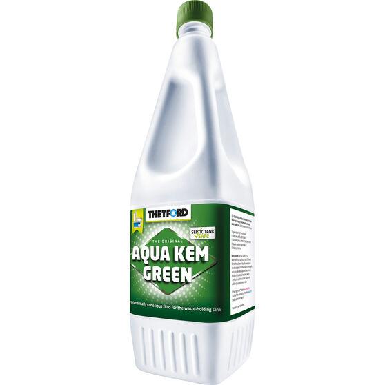 Thetford Aqua Kem Green Toilet Additive - 1 Litre 1L, , scanz_hi-res