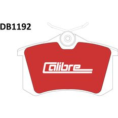 Calibre Disc Brake Pads - DB1192CAL, , scanz_hi-res