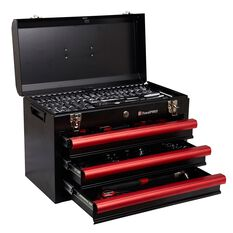 Tool Kit - 3 Drawer Chest, 174 Piece, , scanz_hi-res