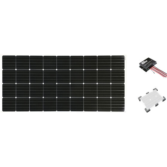Ridge Ryder Caravan Solar Panel Kit - 160 Watt, , scanz_hi-res