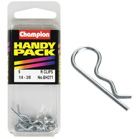 Champion R Clips - 1 / 4-3 / 8inch, BH271, Handy Pack, , scanz_hi-res