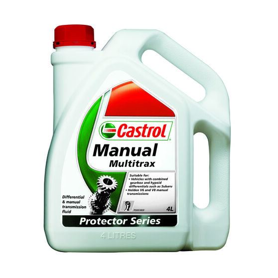 Castrol Multitrax Transaxle & Manual Transmission Fluid - 4 Litre, , scanz_hi-res