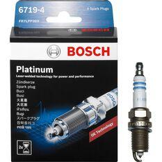 Bosch Platinum Spark Plug - 6719-4, 4 Pack, , scanz_hi-res
