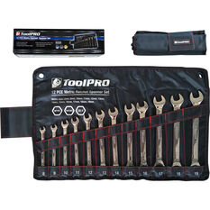 ToolPRO Spanner Set - Ratchet, 12 Piece, Metric, , scanz_hi-res