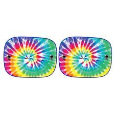 Tie Dye Window Shades - 2 Pack, , scanz_hi-res