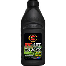 MC-4 Motorcycle Oil - 20W-50, 1 Litre, , scanz_hi-res