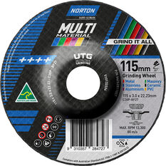 Norton Multi Material UTG Wheel - 115mm, , scanz_hi-res