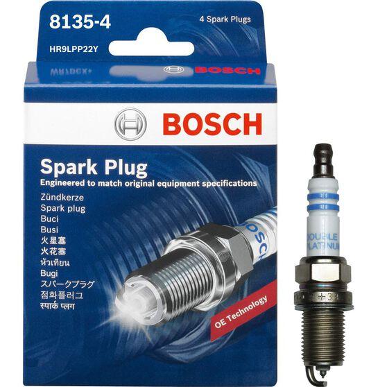 Bosch Spark Plug - 8135-4, 4 Pack, , scanz_hi-res