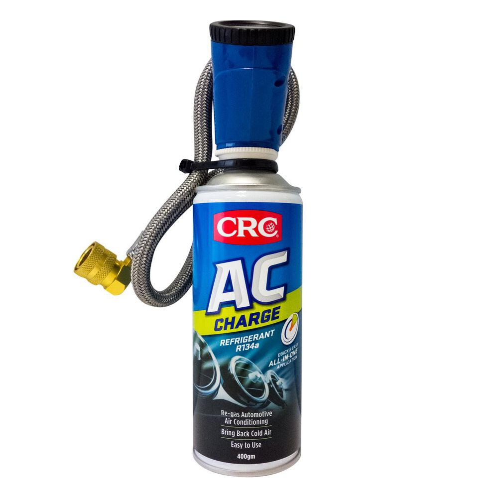 CRC AC Charge Refrigerant R134a Refill & Hose