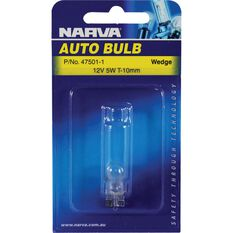 Narva Bulb - 12V, 5W, T-10mm, , scanz_hi-res