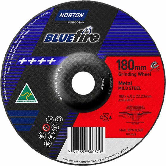 Metal Grinding Disc - 180 x 6.0 x 22mm, , scanz_hi-res
