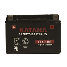Powersports Battery -  YTX9-BS, , scanz_hi-res
