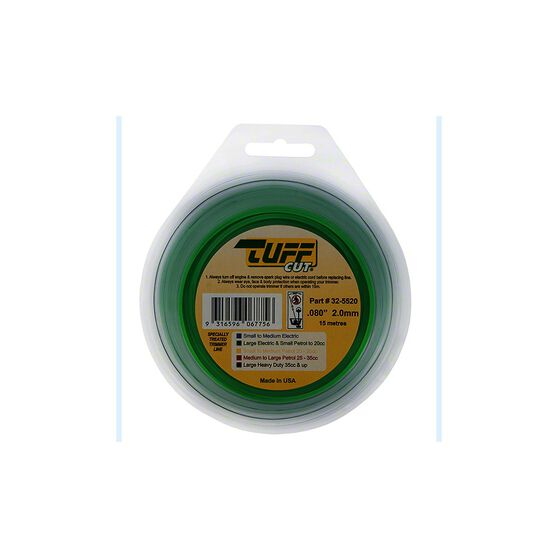 NGK Tuff Cut Trimmer Line - Green, 2mm X 15m, , scanz_hi-res