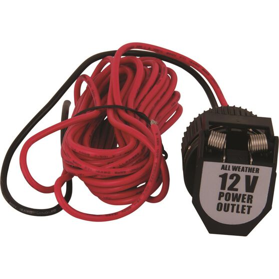 12V Socket - With Wiring, Heavy Duty, , scanz_hi-res