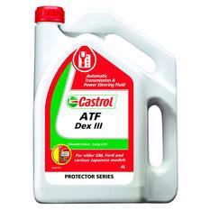 Castrol Auto Transmission Fluid - Dex III, 4 Litre, , scanz_hi-res