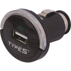 Type S Power Adaptor to USB - 12V, , scanz_hi-res