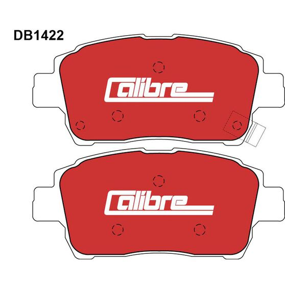Calibre Disc Brake Pads - DB1422CAL, , scanz_hi-res